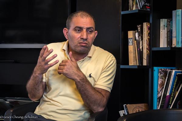 2019-05-06 Talk by Bassam Aramin