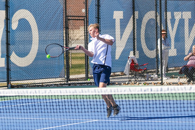 CCHS Tennis action