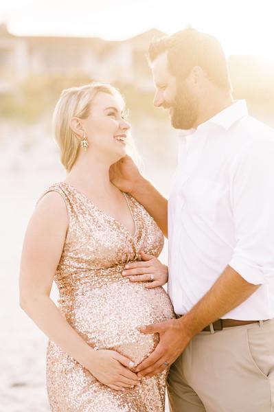 Katie and Chris Maternity Session   Atlantic Beach, FL