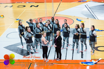 NCHS Images Winterguard performance 2016