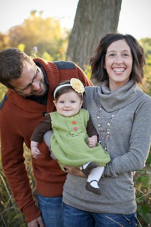 Tilford Family- Fall 2012