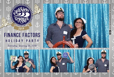 Finance Factors Holiday Party (LED Dazzle Booth)