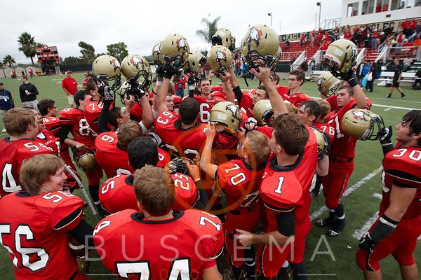 SFC vs LJCD Varsity Football 10-20-2012