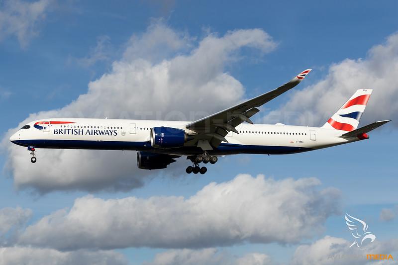 British Airways / A350-1000 / G-XBWA