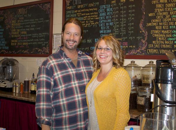 Leah & Tony - Grinder's Caffe