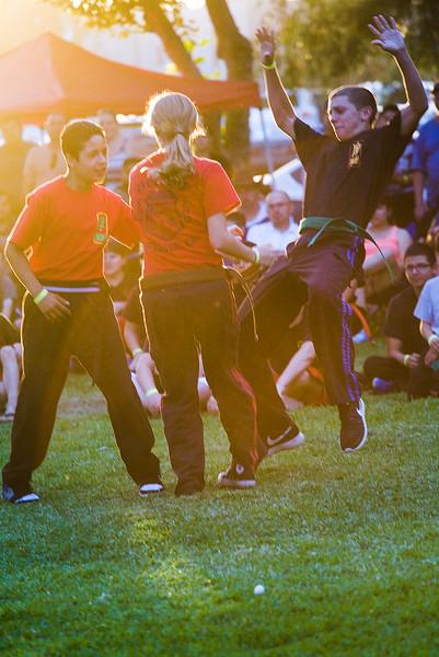 Karate Camp Fall Demo 2014