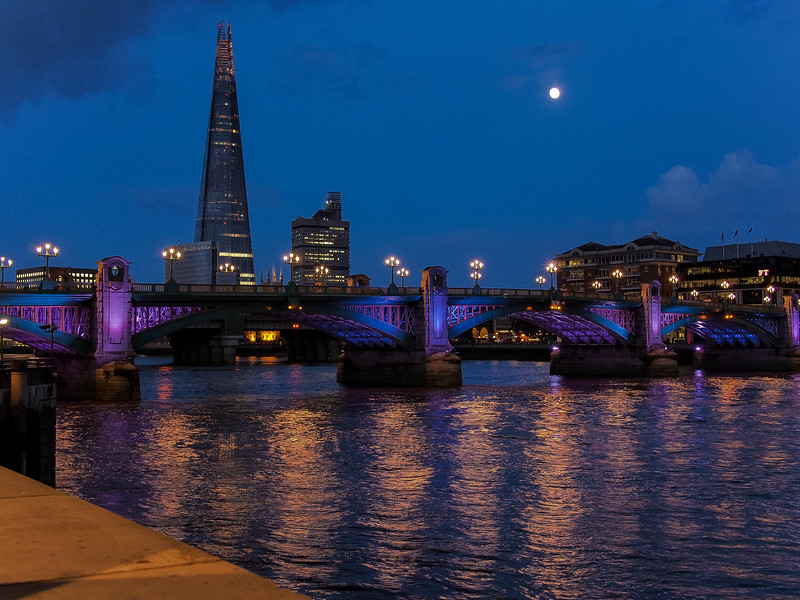Southwark Bridge & The Shard