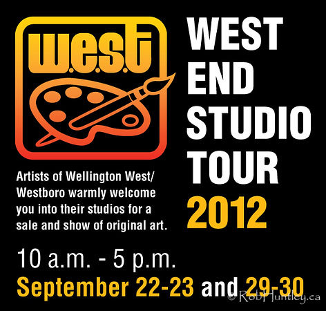 I'm participating in the West End Studio Tour (WEST) again. This is my third year.  W.E.S.T. is in its 17th year and for 2012 has 16 artists showing a variety of art works. I'm one of two photographers on the Tour. My gallery is in my home at 480 Denbury Ave.  Saturday and Sunday (Sept 22-23) between 10:00 am and 5:00 pm. Saturday and Sunday (Sept 29-30) between 10:00 am and 5:00 pm.  See my WEST 2012 Gallery  to view the images in my exhibition and for more information about the West End Studio Tour.