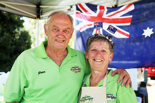 2014 Australia Day in Wagga Wagga.