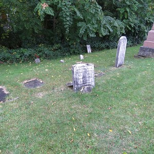 Lewiston Cemetery, North side, part 2, Sept. 2019