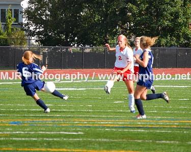 St. Johns vs. St Dominic's Girls Varsity Soccer (9-11-06)