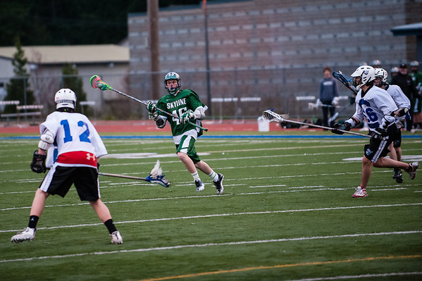 Skyline JV vs Northshore, 03-27-12