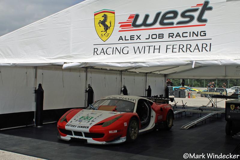GT-Team West/AJR/Boardwalk Ferrari Ferrari 458 Italia GTC