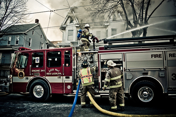 16JAN09 York County, Red Lion Boro, PA 4 Alarm RSF