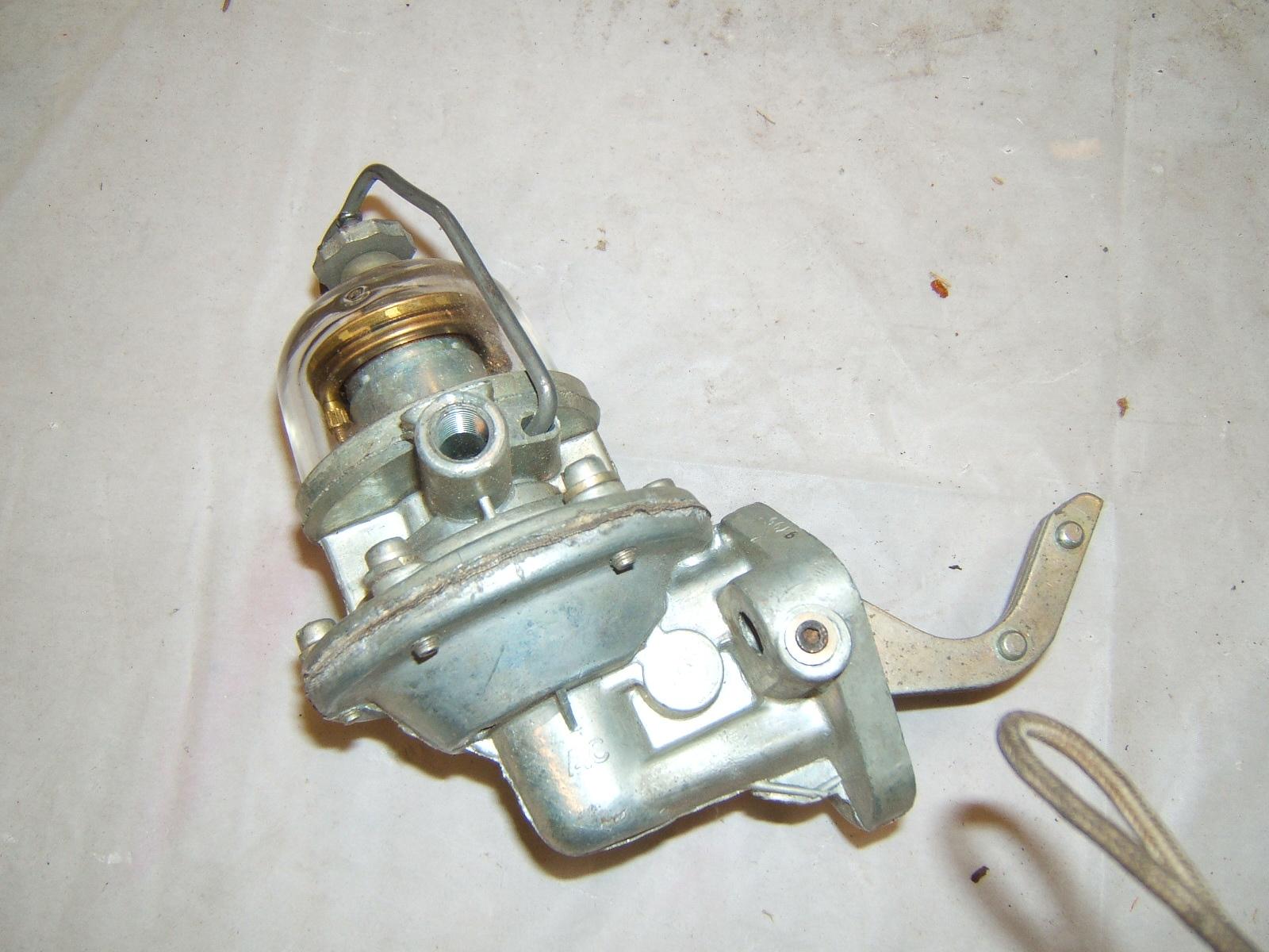 1950 -65 International truck fuel bowl up fuel pump ac9537 (A 9537ac)