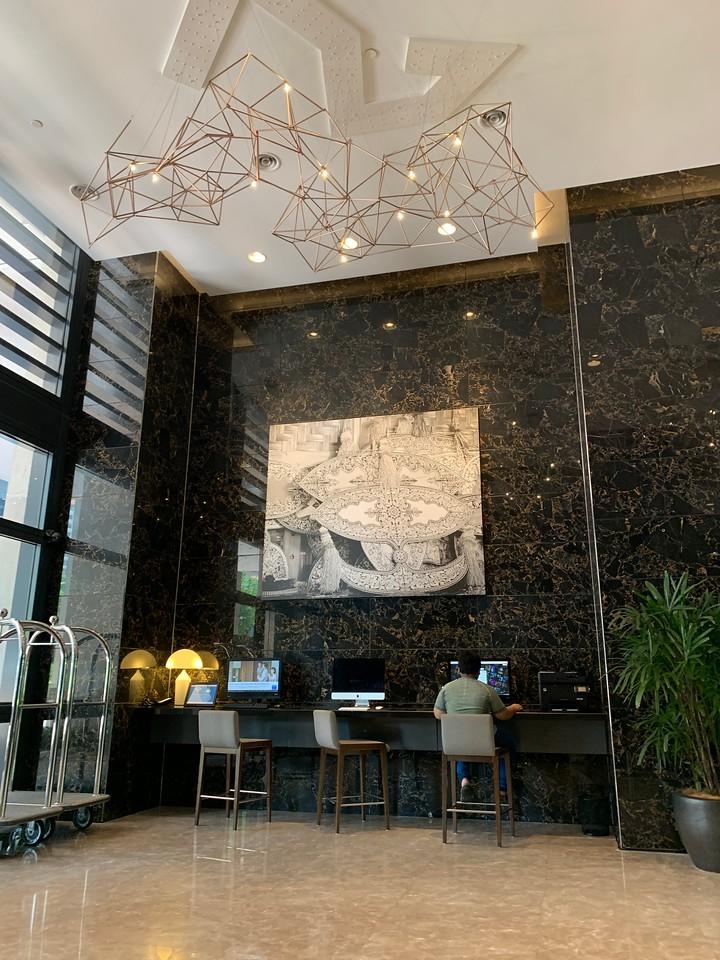 Hyatt House KL Mont Kiara Lobby