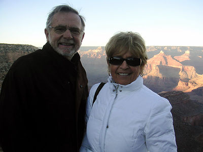 05 Arizona: Grand Canyon Sunset - El Tovar