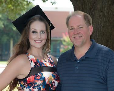 Ashley's Baylor Graduation
