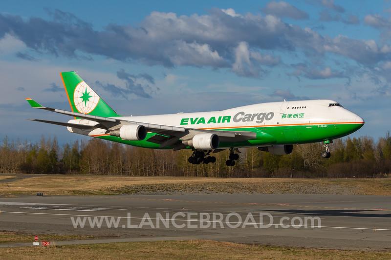 Eva Air Cargo 747-400F - B-16407 - ANC