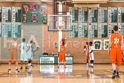 JVB Davie at West Forsyth 01/10/14