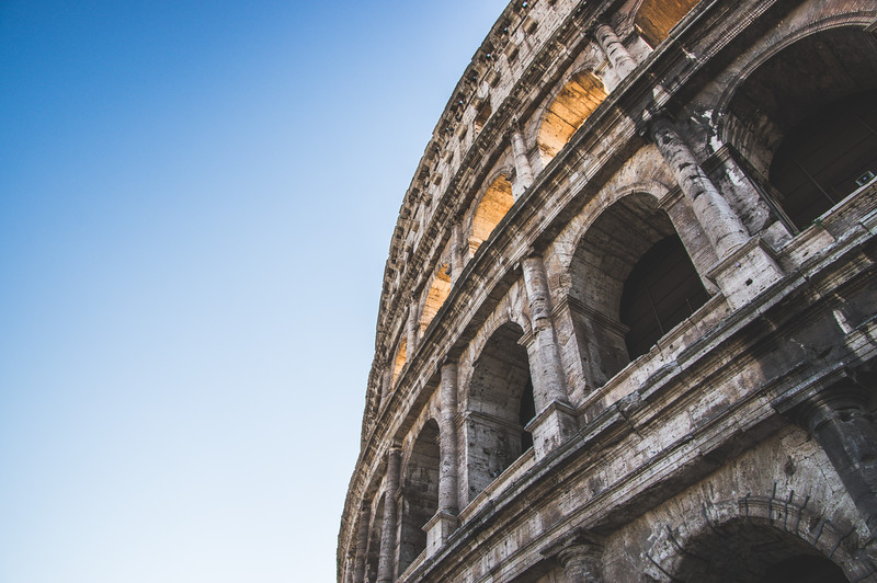 The Colosseum by Morning Light