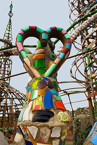 Watts Towers, photography by NSL Photography