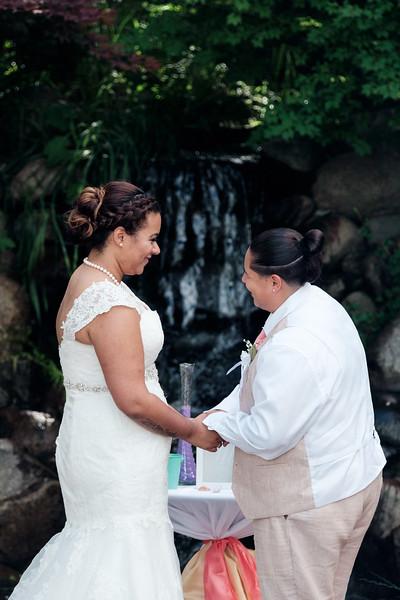 Ceremony at the Tree Farm