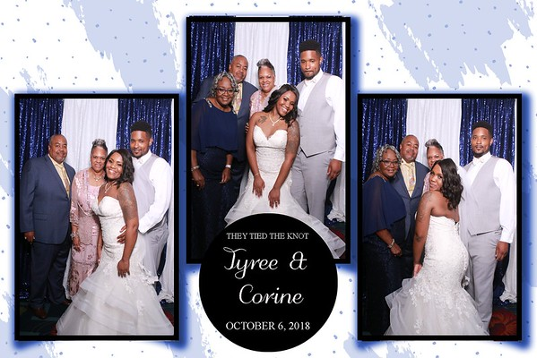 THE WEDDING OF TYREE & CORINE