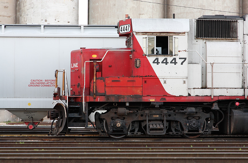 Soo Line 4447 (EMD GP38-2) - Muskego Yard (Milwaukee, WI)