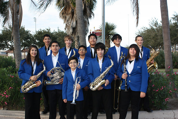 Middle School All Region Band Photos 2012