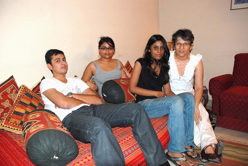 At Zareen's place