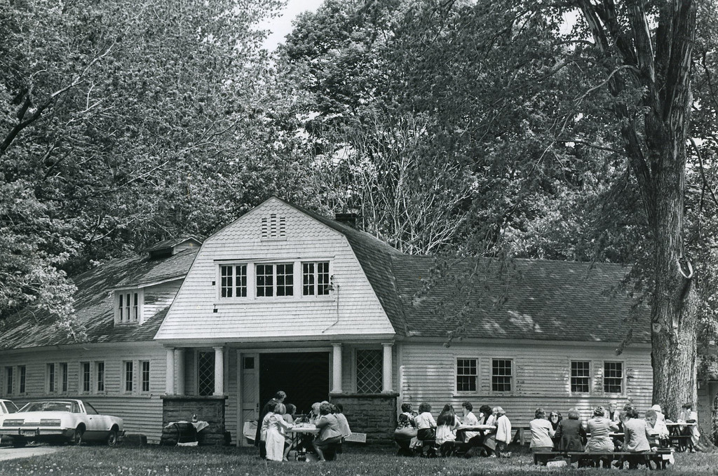 . The Garfield home carriage house, May 22, 1980. (News-Herald file)