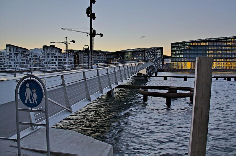 Copenhagen Harbour Foot Bridge