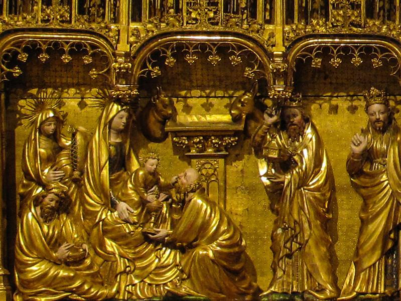 Dijon Beaux Arts Museum - Crucifixion Altarpiece - Adoration of the Maji