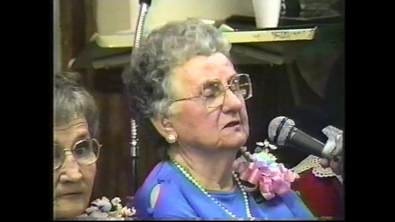 Mother's Interview in Beauty Pageant at Nursing Home 199?