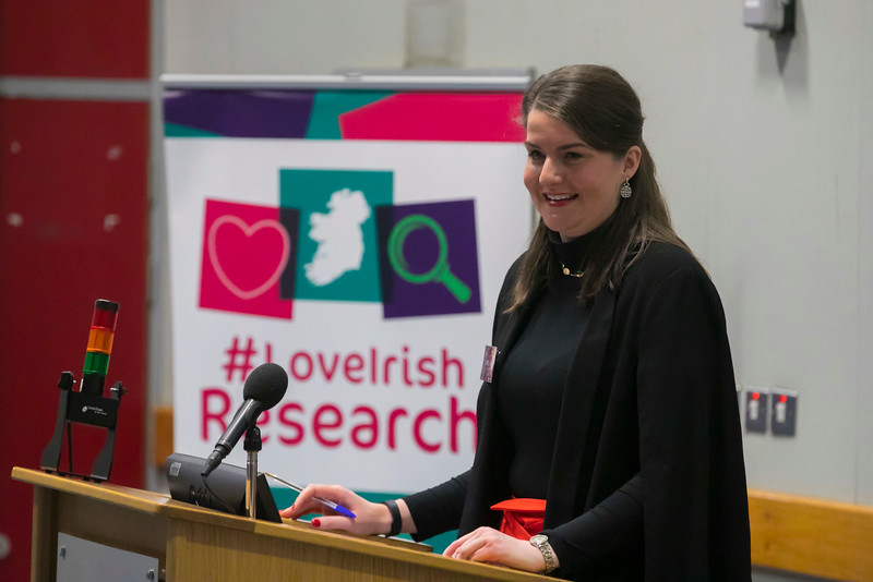 22/02/2018. Research Sparks in Waterford Institute of Technology. Pictured is Aisling O'Neill WIT. Picture: Patrick Browne
