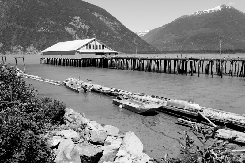 Abandoned cannery, Bella Coola, BC