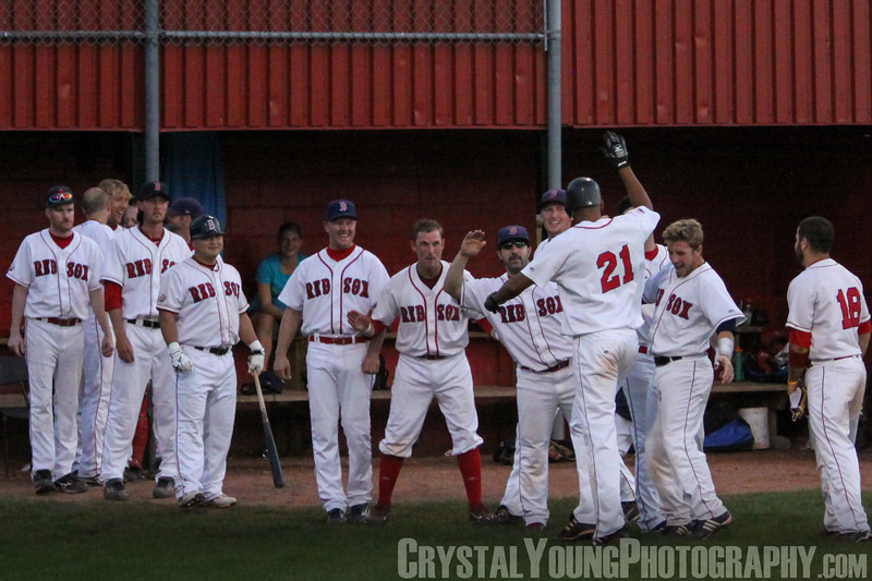Barrie Baycats at Brantford Red Sox IBL Playoffs, Finals Game 1 August 15, 2010