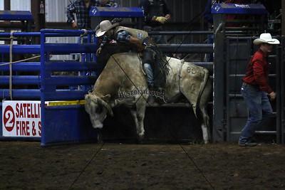 PRCA Bull Riding Saturday