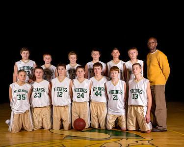 2015-2016 Boys 8th Grade Basketball