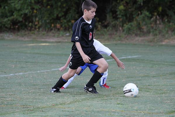 U12 Boys vs Peachtree Ridge 9-15-2012