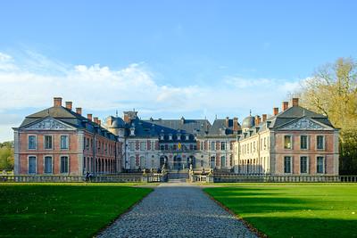 2020-11 Autumn at Beloeil castle
