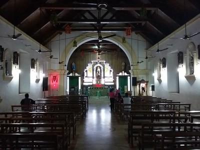 St Theresa's Church Mahe & Festival 2013