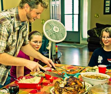 081127-1211 Thanksgiving, Closeups, Snow and More