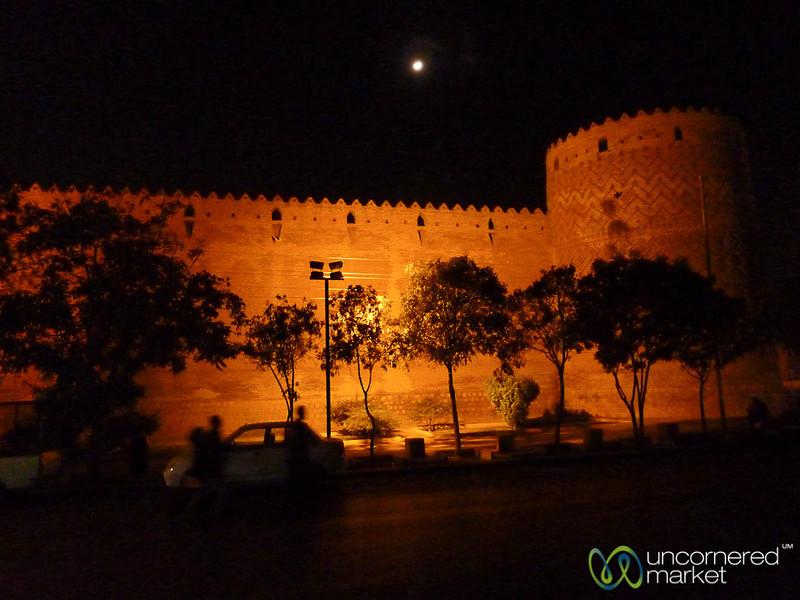 Shiraz Citadel at Night - Iran