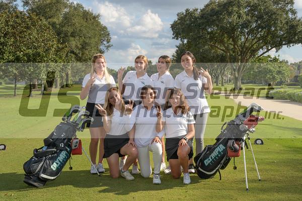Girls Golf Team Picture 11.7.19