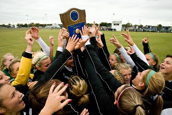 women's soccer cac championship - 11/3/07