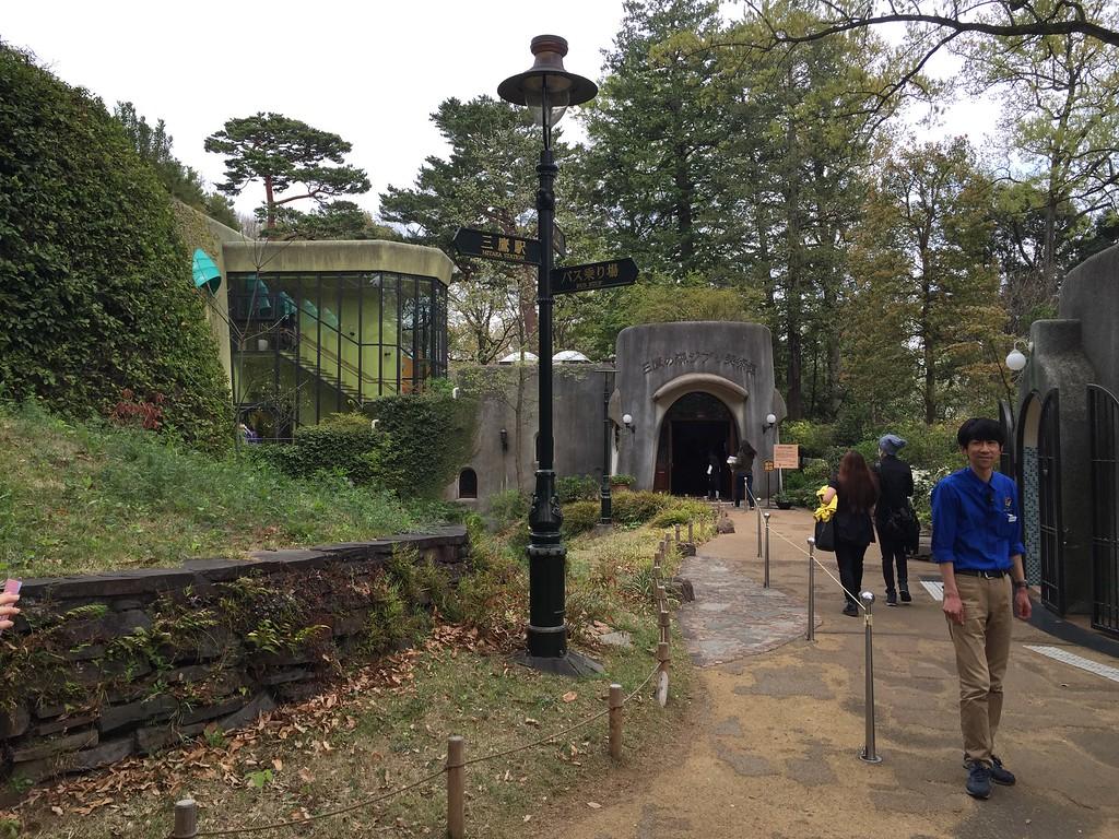 Ghibli Museum entrance