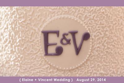 Elaine - Vincent wedding