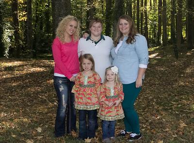 Amanda, Tracy, Emily and The Girls